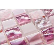 DUNIN Aurora Ruby 15 30x30 cm üveg-kő mozaik