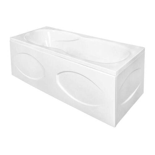 M-acryl Nora 160x70 egyenes akril fürdőkád