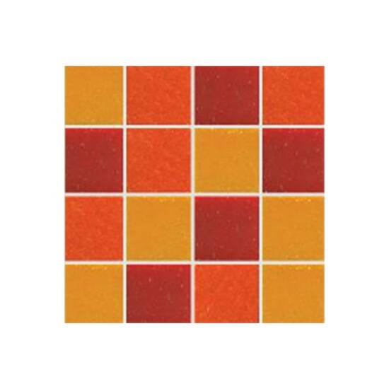 Üvegmozaik HOLLYWOOD FLAME 30x30 cm keverék