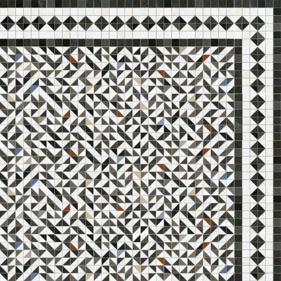Vives Seine Iena-R 2 Grafito 20x20 cm padlólap